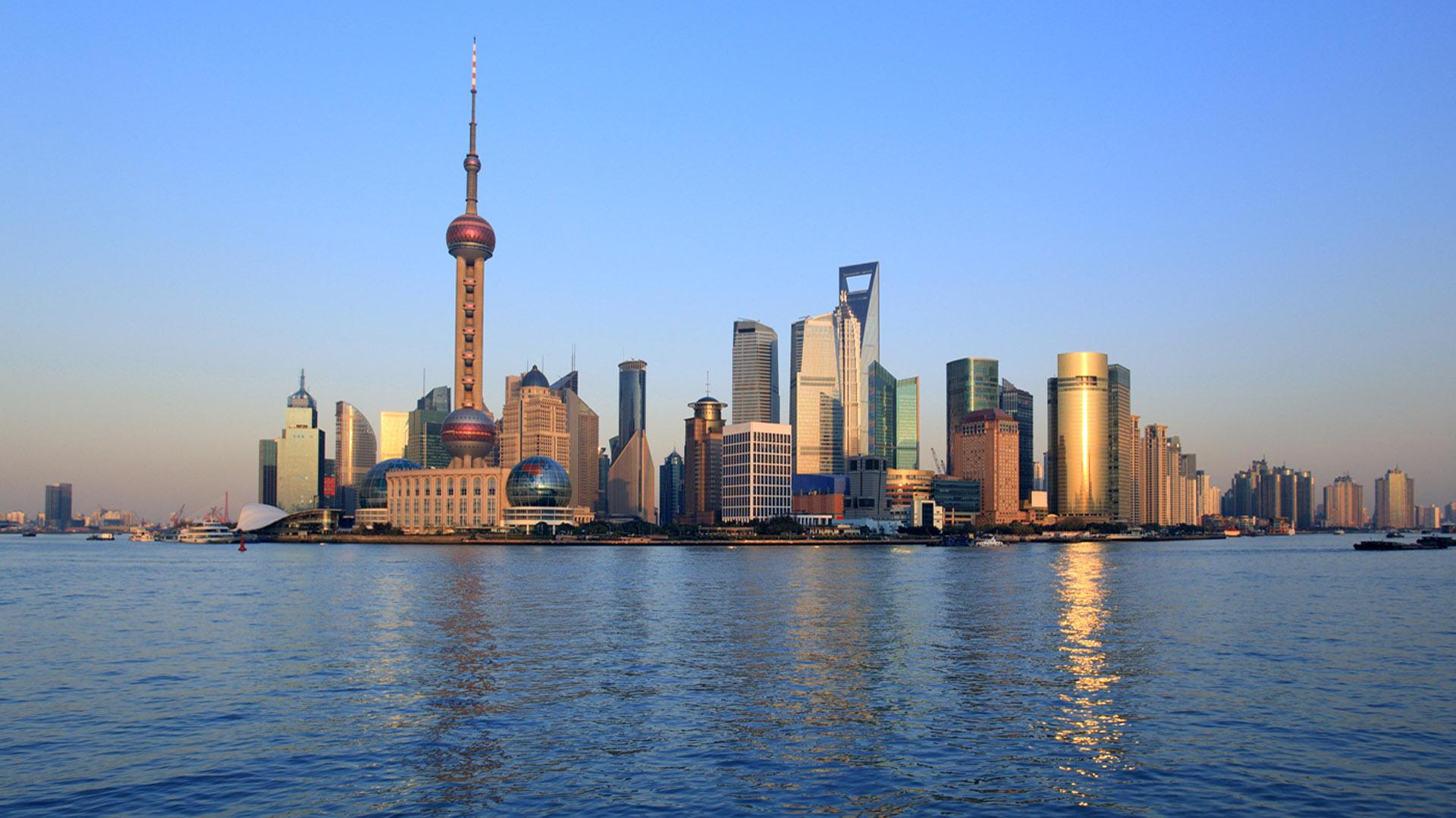 shanghai-China-waterfront